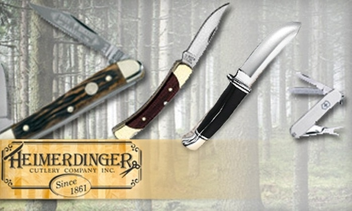Heimerdinger Cutlery Company - East Louisville: $17 for $35 Worth of Knives, Scissors, and More at Heimerdinger Cutlery Company