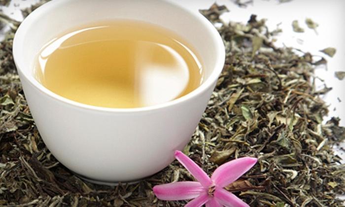 Indigo Tea Lounge - Downtown: $20 for Loose-Leaf Tea Sampler at Indigo Tea Lounge ($42 Value)