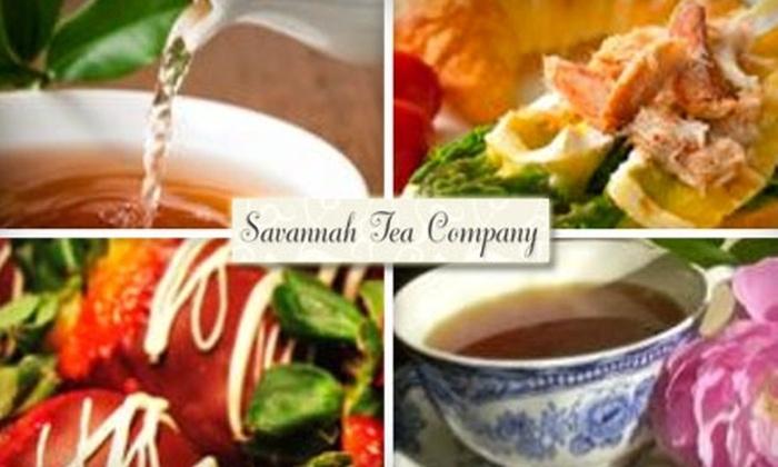 Savannah Tea Company - Nashville: $10 for $20 Worth of Tea & Light Eats at Savannah Tea Company