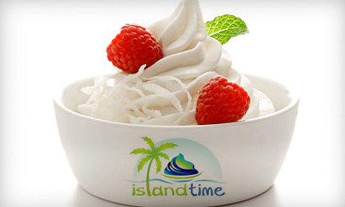 Island Time - Northside: $4 for $8 Worth of Frozen Yogurt at Island Time in Fernandina Beach