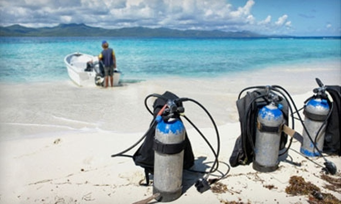 Scuba Quest - Hancock: Certification Class or Scuba Refresher at Scuba Quest (Up to 75% Off)