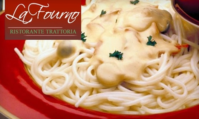 La Fourno Ristorante Trattoria - Washington Square West: $10 for $20 Worth of Italian Cuisine at La Fourno Ristorante Trattoria in Center City
