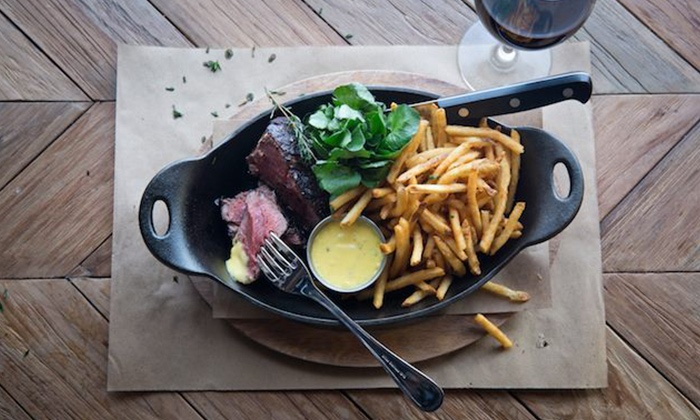 LT Bar & Grill, a Laurent Tourondel Restaurant - Midtown South Central: $65 for a Prix-Fixe Valentine's Day Dinner for 2 at LT Bar & Grill (Up to $147 Value)