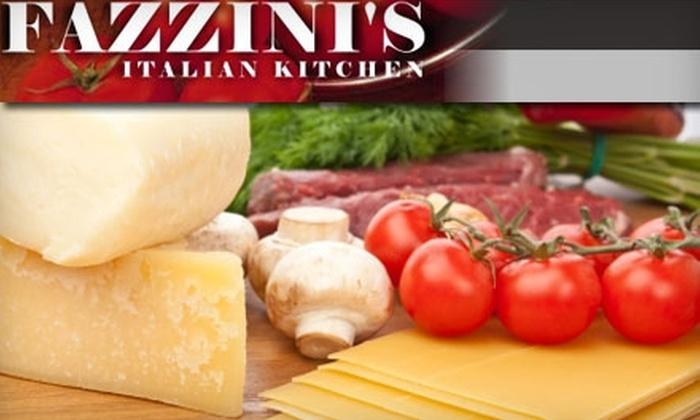 Fazzini's Italian Kitchen - Baltimore: $10 for $20 Worth of Italian Fare and Drinks at Fazzini's Italian Kitchen in Cockeysville