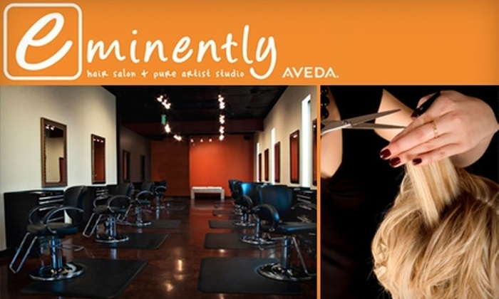 Eminently Hair Salon and Pure Artist Studio - Denver: $25 for $50 Worth of Aveda Services and Products at Eminently Hair Salon and Pure Artist Studio in Lakewood
