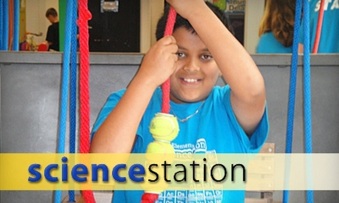 Science Station - Cedar Rapids: $3 for Admission for Two to the Science Station (Up to $6 Value)