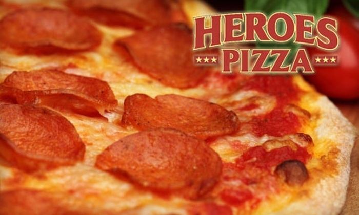 Heroes Pizza - Avon: $8 for $16 Worth of Pizza, Salads, and Sandwiches at Heroes Pizza