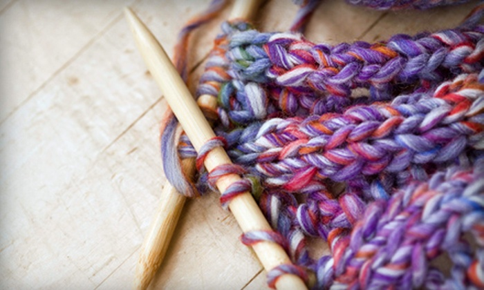 Cook's Arts & Crafts Shoppe - Glendale: Knitting or Crocheting Instruction at Cook's Arts & Crafts Shoppe in Glendale (Up to 59% Off). Three Options Available.