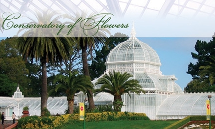 Conservatory of Flowers - Golden Gate Park: $7 for a Ticket for Two People (Up to $14 Value) or $24 for a One-Year Family Membership ($60 Value) at Conservatory of Flowers