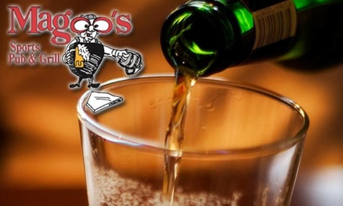 Magoo's Sports Bar - West Allis: $10 for $20 Worth of Pub Fare and Drinks at Magoo's Sports Bar in West Allis