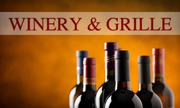 Indian Creek Orchard Winery & Grille - Saint Croix Falls: $30 for Two Bottles of House Wine, Cheese and Sausage Tray, and Three Samples of Regional Wines ($66 Value) at Indian Creek Orchard Winery & Grille in St. Croix Falls, Wisconsin