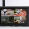ALC Wireless Surveillance System with Monitor and Weatherproof Cameras