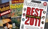 """Hudson Valley Magazine: $7 for a One-Year Subscription to """"Hudson Valley"""" Magazine ($14.97 Value)"""