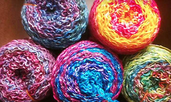 Heritage Spinning & Weaving - Village Of Lake Orion Downtown: Spinning, Crocheting, and Knitting Classes or Six Drop-In Knitting Sessions at Heritage Spinning & Weaving in Lake Orion