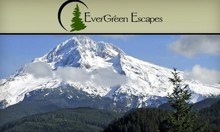 EverGreen Escapes - Pearl: $87 for a Full-Day Mt. Hood Snowshoe Tour from EverGreen Escapes ($175 Value)