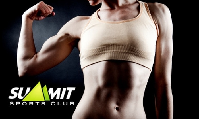 Summit Sports Club - Pharr: $50 for Ten Passes to Classes or Gym Facility at Summit Sports Club ($150 Value)