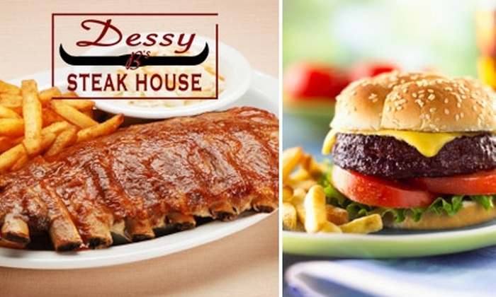 Dessy B's Steakhouse - Paradise: $14 for $30 Worth of Salads, Seafood, and Steaks at Dessy B's Steakhouse