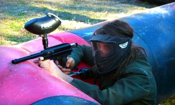 Lost Paintball - San Marcos: $20 for Full Rental Package at Lost Paintball in San Marcos ($40 Value)