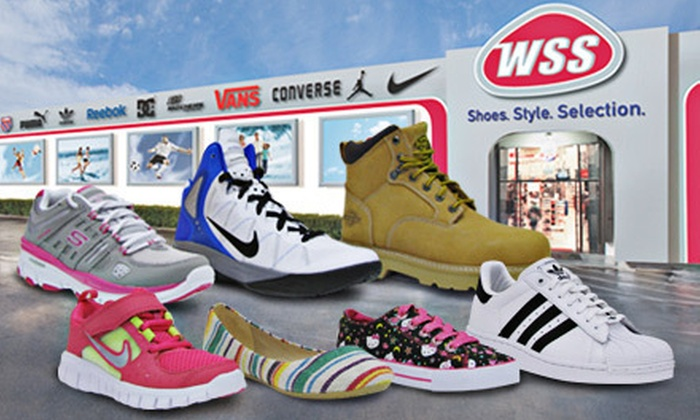 WSS Footwear - Harborside: $20 for $40 Worth of Shoes and Accessories at WSS Footwear