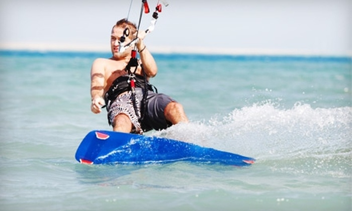 Captain Kirk's - Central San Pedro: $99 for Introductory Kiteboarding Lesson at Captain Kirk's in San Pedro ($199 Value)