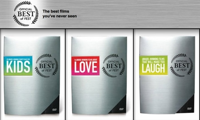 Official Best of the Fest - Lower Queen Anne: $20 for One Award-winning Independent Film Gift Set from Official Best of Fest ($44.95 Value)