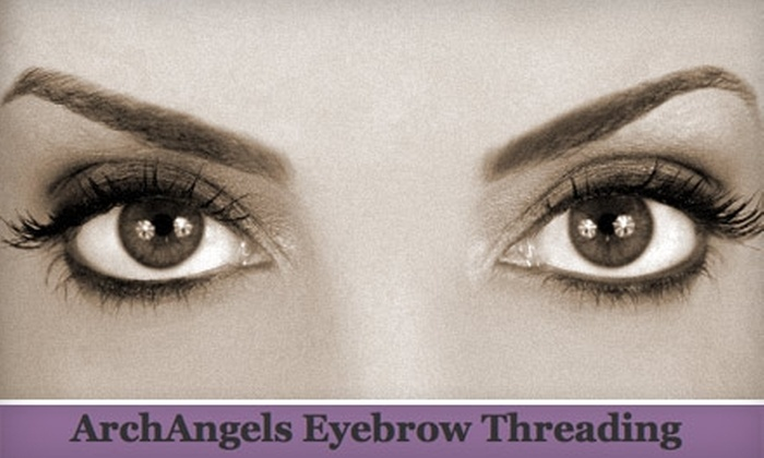 ArchAngels - Multiple Locations: $7 for an Eyebrow Threading from ArchAngels ($15 Value)