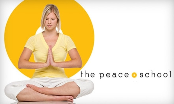 The Peace School - Lakeview: $40 for 12 Yoga Classes at The Peace School