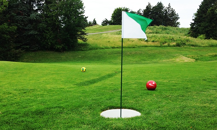 Baker National Golf Course - Medina: Nine-Hole Round of FootGolf for Four, Five, Eight, or Ten at Baker National Golf Course (50% Off)