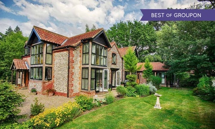 Norfolk: 1 or 2 Nights for Two with Breakfast, Cream Tea And Leisure Access at Felbrigg Lodge