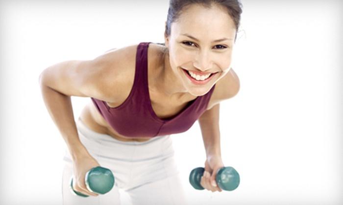 Glow Fitness Studio - Bon Air,Washington Junction: A personal training or Pilates reformer session