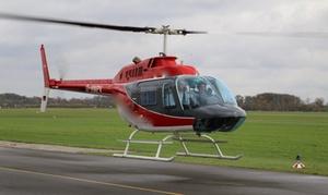 Aveo Flight Academy: 30 Min. Helikopterflug über der Industrie Kultur Route für 1 Person bei Aveo Flight Academy (45% sparen*)