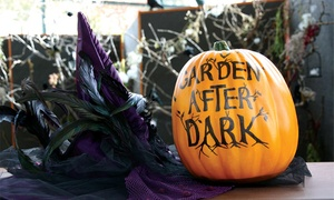 $6 For Halloween Activities At Garden After Dark At Red Butte Garden On October 16 Or 23 ($12 Value)