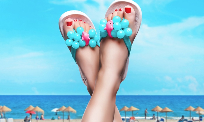 New Image Anti Aging & Cosmetic Laser Center - Amherst: Toe Fungus Removal for Five or Ten Toes at New Image Anti Aging & Cosmetic Laser Center (Up to 75% Off)