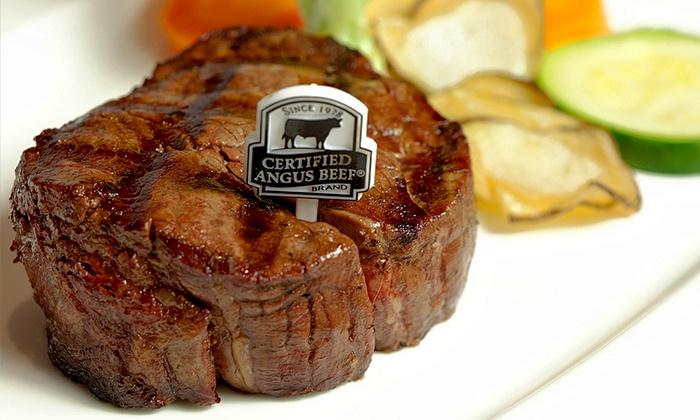 Day & Night Angus Steak and Raw Bar - Day & Night Angus Steak & Raw Bar: C$69 for a 5-Course Steak or Seafood Meal for 2 at Day & Night Angus Steak and Raw Bar (C$140 Value)