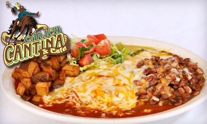 Prime - Alamedan Valley: $20 for $40 Worth of Burgers and Southwestern Comfort Fare at Calico Cantina & Café
