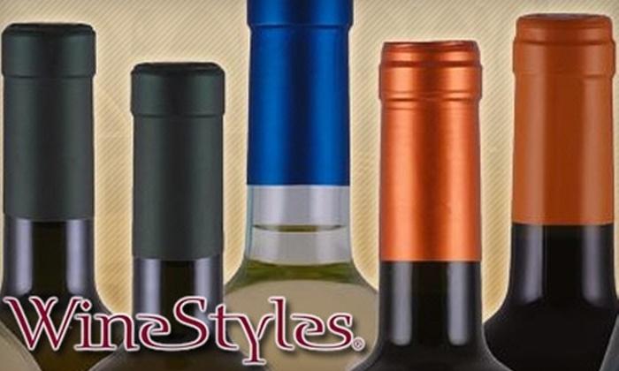 WineStyles Encitas - Encinitas: $59 for Three Months of Wine-Club Membership at WineStyles in Encinitas