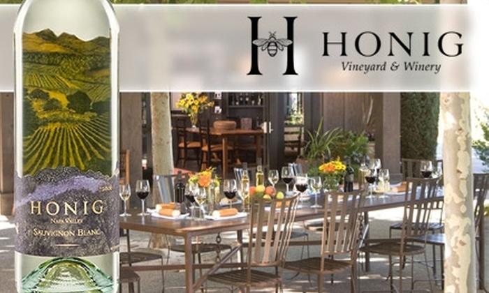 Honig Vineyard & Winery - San Francisco: $15 for a Wine Tasting for Four People at Honig Vineyard & Winery ($40 Value)
