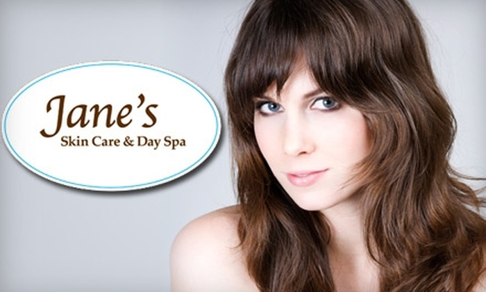 Jane's Skin Care & Day Spa - Transitional: $39 for a Cut and Colour (Up to $105 Value) or $15 for a Haircut (Up to $35 Value) at Jane's Skin Care & Day Spa