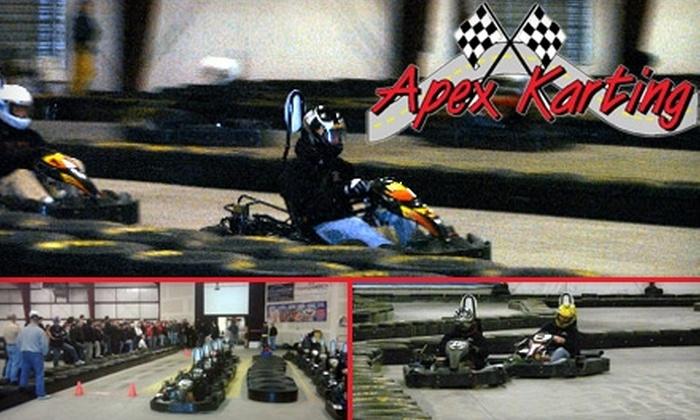 Apex Karting - Tumwater: $50 for Five Adrenaline-Pumping Kart Races at Apex Karting