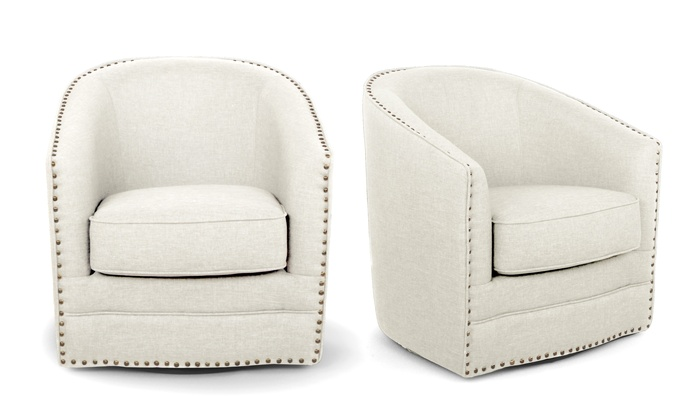 Miraculous Porter Contemporary Swivel Glider Tub Chair Groupon Cjindustries Chair Design For Home Cjindustriesco