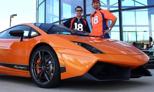 Oxotic Supercar Driving Experience: 15-Mile Drive or Ride-Along in a 2011 Lamborghini Gallardo at Oxotic Supercar Driving Experience (Up to 67% Off)