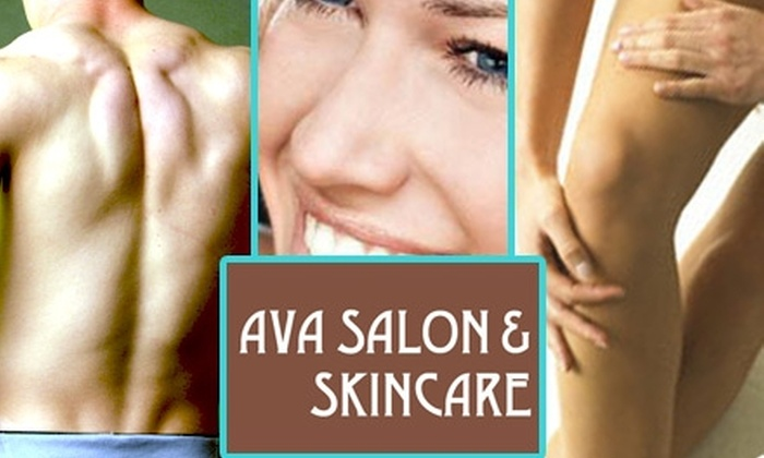 Ava Salon & Skincare - Capitol Hill: Hair and Waxing Services at Ava Salon and Spa. Choose Between Two Options.