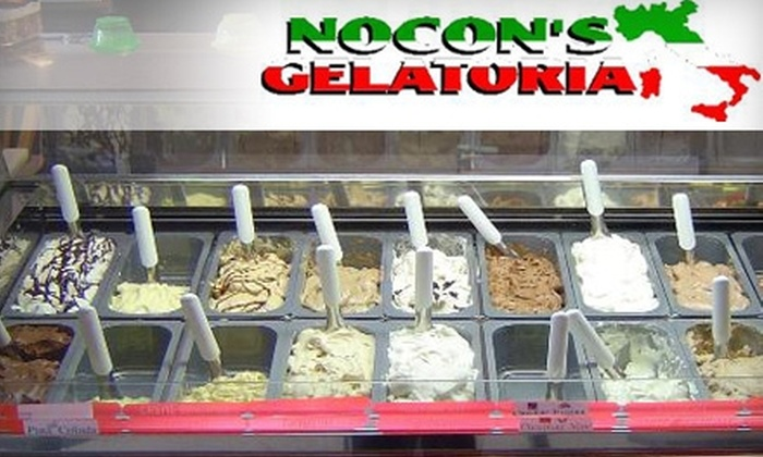 Nocon's Gelatoria - Briargate: $4 for $8 Worth of Italian Treats at Nocon's Gelatoria
