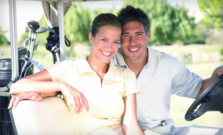 1 Day of Unlimited Rounds of Golf for Two with Cart Rental  - Sunset Golf Club in Grand Prairie