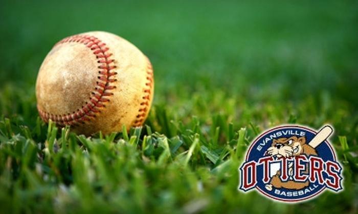 Evansville Otters Baseball - Jacobsville: $15 for Ten Regular Season Home Game Tickets to Evansville Otters Baseball ($50 Value)