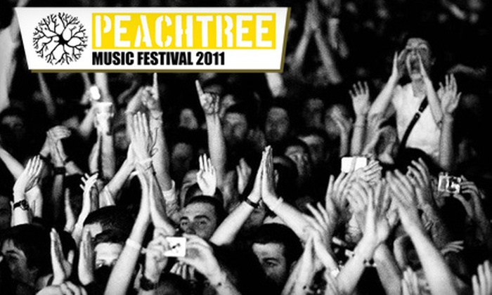 Peachtree Music Festival - Midtown: Two or Four Tickets to Peachtree Music Festival on October 1 at 11 a.m. Four Options Available.
