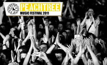 Peachtree Music Festival on Sat., Oct. 1 at 11:00AM: General Admission for 2 - Peachtree Music Festival in Atlanta