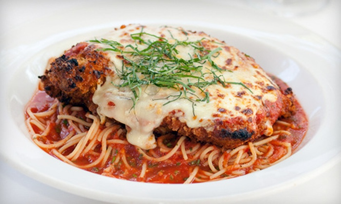 Caffe Tosca - Hingham: $25 for $50 Worth of Upscale Italian Fare at Caffe Tosca in Hingham