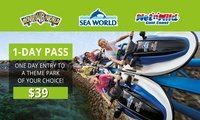 $39 for a 1-Day Pass to Movie World, Sea World or WetnWild Gold Coast