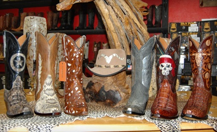 $215 Toward Boots - Red's Boot Barn in Stanton